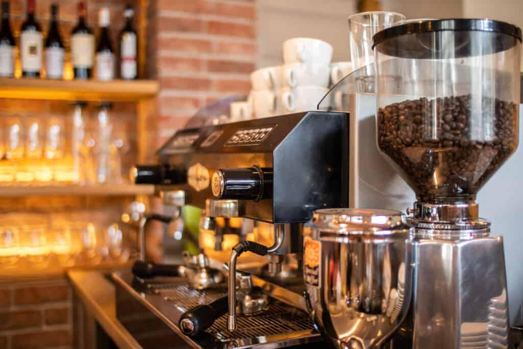 Italská káva středomořská kuchyně restaurace Da Clara